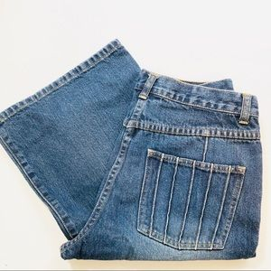 Willi Smith flare leg high rise jeans size 6